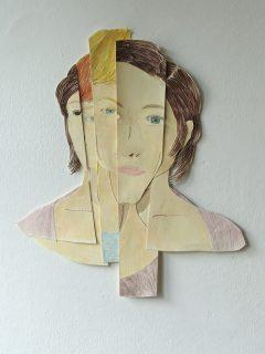 fragmentiertes Portrait aus der Serie